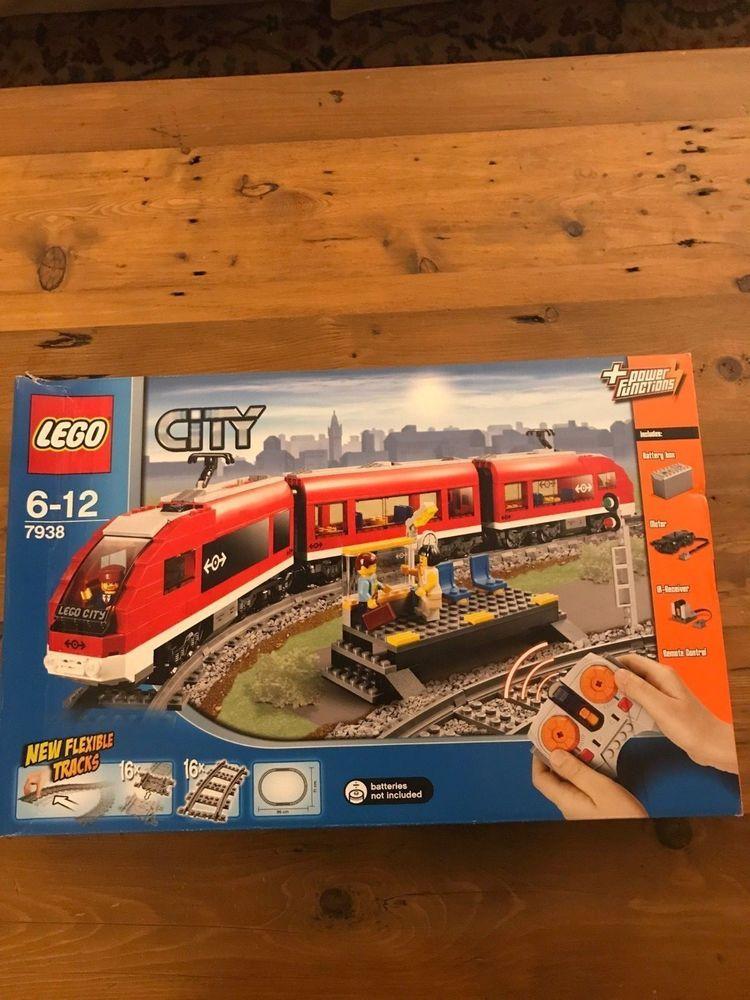Lego City Passenger Train 7938 New But Damaged Box The Ultimate