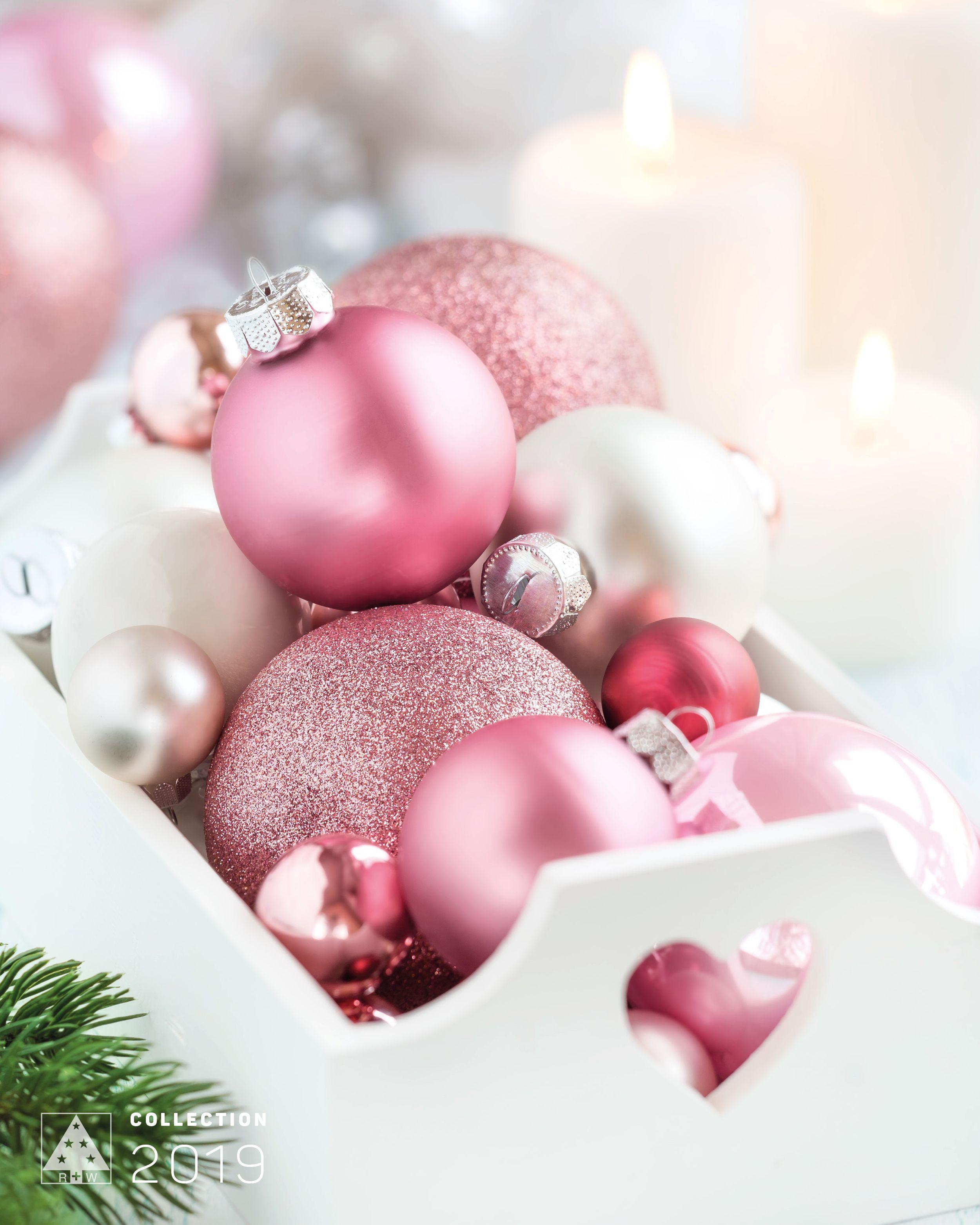 Weihnachtskugeln Pink.Von Schlicht Matt Bis Seidig Glänzend Pink Shiny Matt