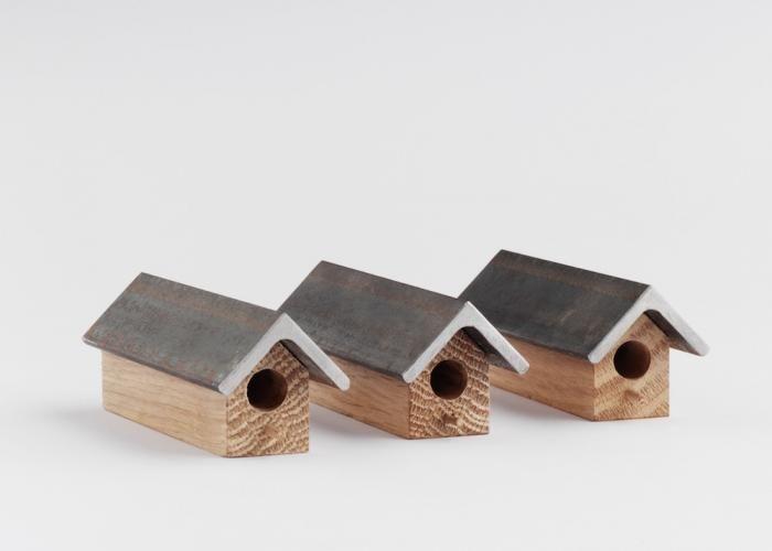 Three Bee Houses