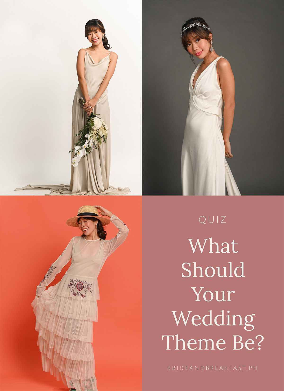 Quiz What Should Your Wedding Theme Be Bride And Breakfast Wedding Theme Colors Historic Wedding Venue