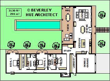 Planos De Casa L Forma Pg2 Small E Simple Designs By Architect Sa - Planos-de-casas-en-l