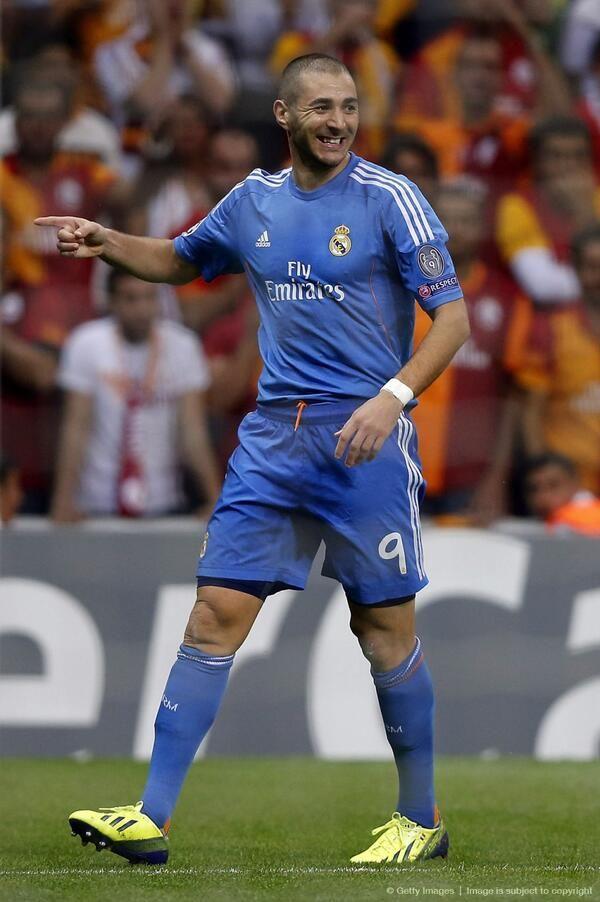 Karim Benzema; Galatasaray vs. Real Madrid (17/9/13)