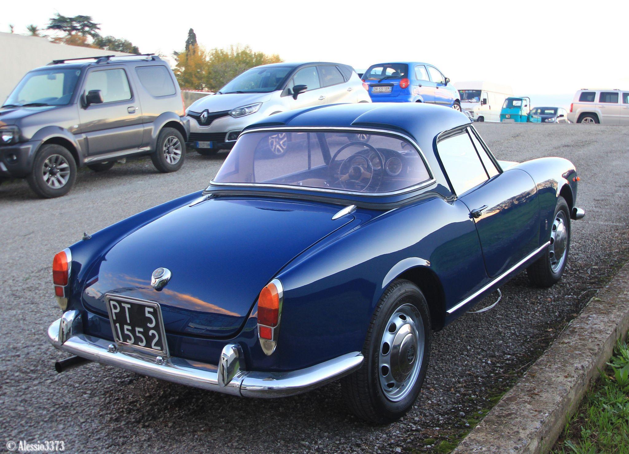 1961 Alfa Romeo Giulietta Spider Hardtop Classic Cars