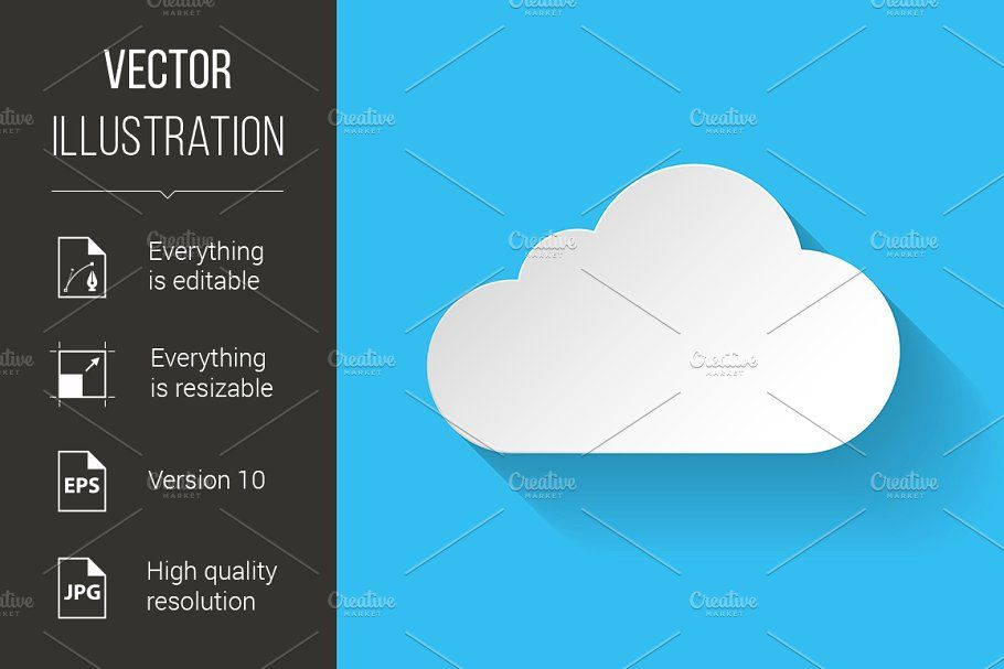White Paper Cloud In 2020 Paper Clouds App Background Hosting Icon