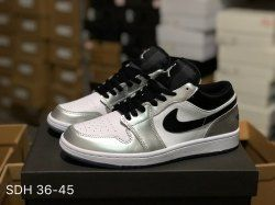 553e33bdb5ae Air Jordan 1 Retro Low Kawhi Leonard Medial Silver Mens Womens Basketball  Shoes