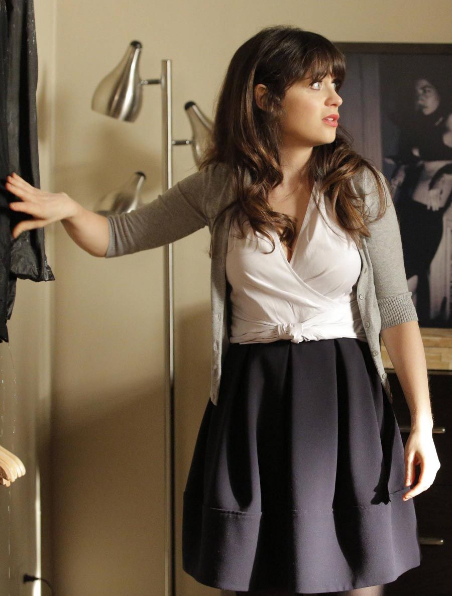 Zooey deschanel fashion style new girl