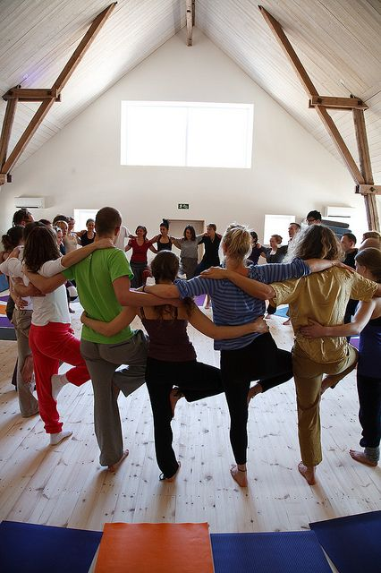 Yoga festival-008 by Ängsbacka, via Flickr | Teen Yoga