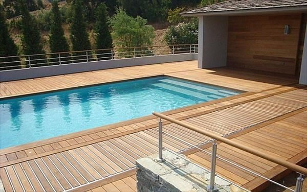 DIY Pallet Swimming Pool Pallets Swimming Pools And