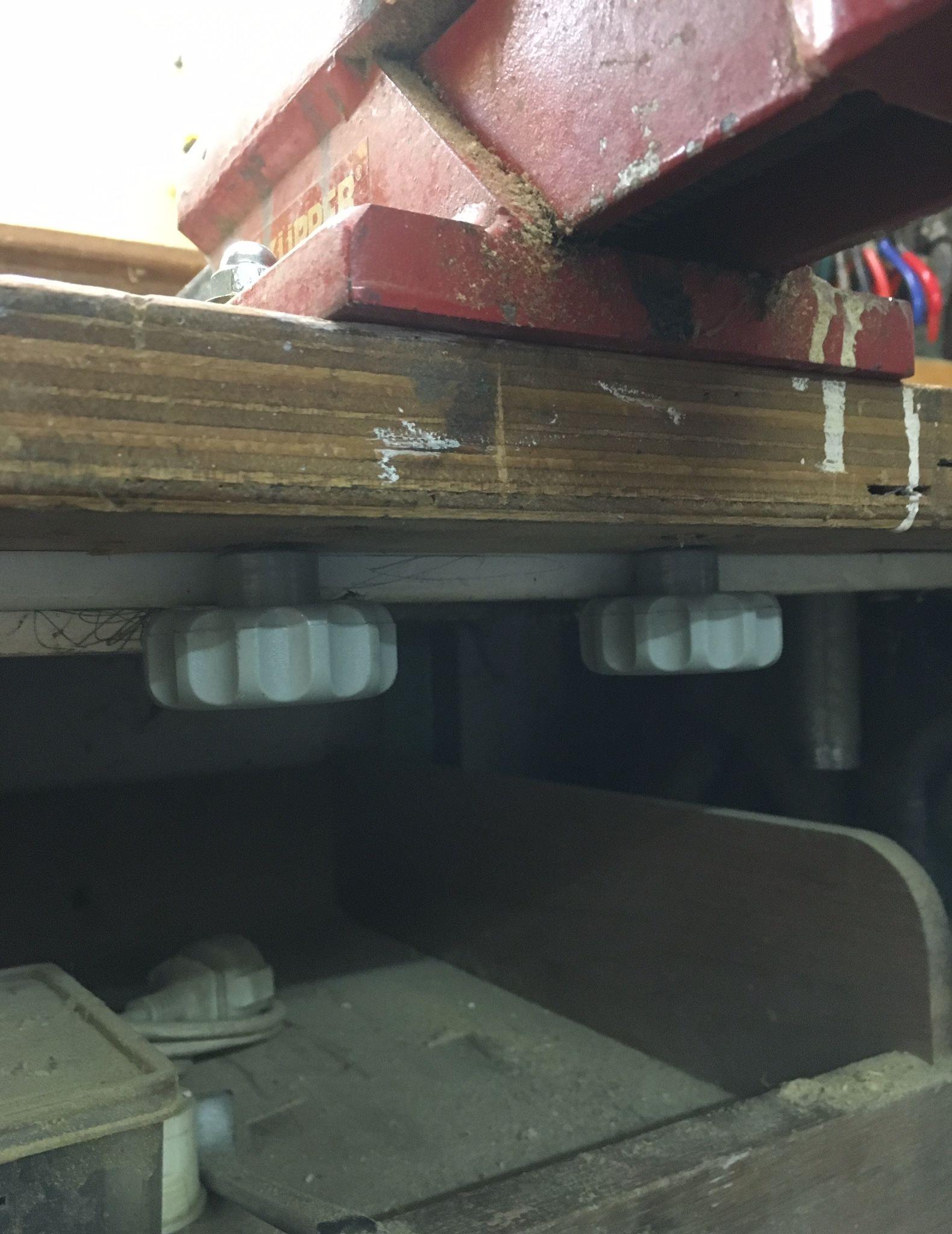 Schraubstock - abnehmbar montiert Bauanleitung zum selber bauen ...