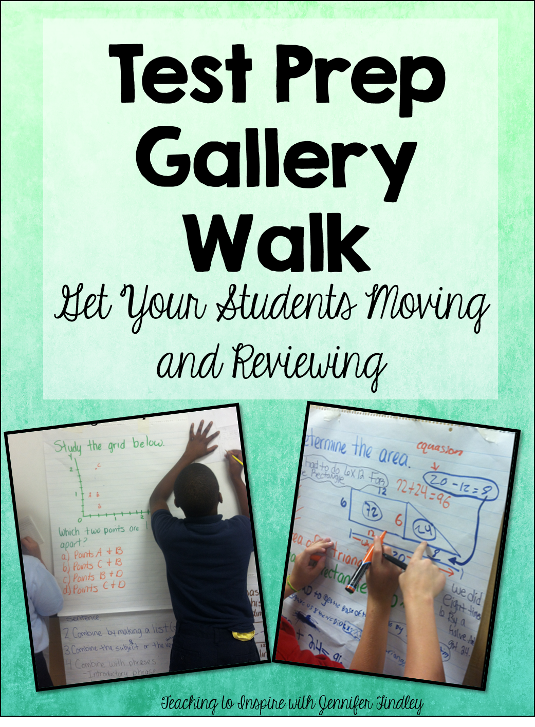 Get Them Moving! Test Prep Gallery Walk in 2018 | Math Teaching ...