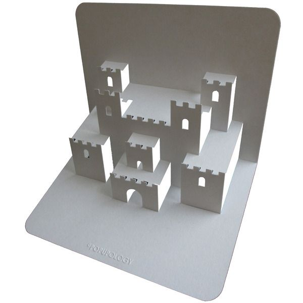 Castle Pop Up Card Click on link for free video tutorial and - creer maison 3d gratuit
