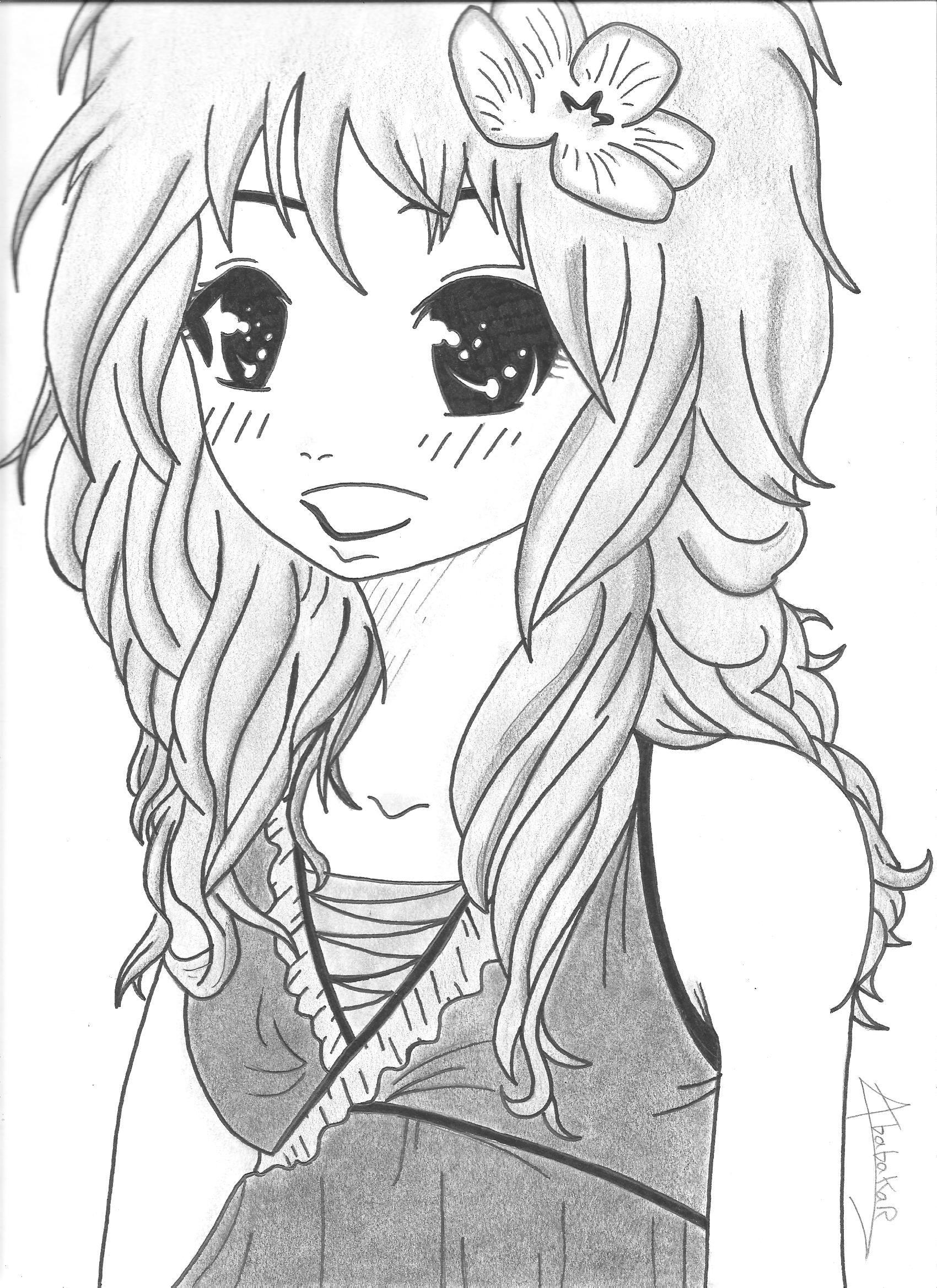 Play the net dessin de manga a imprimer page 3 - Manga dessin a imprimer ...