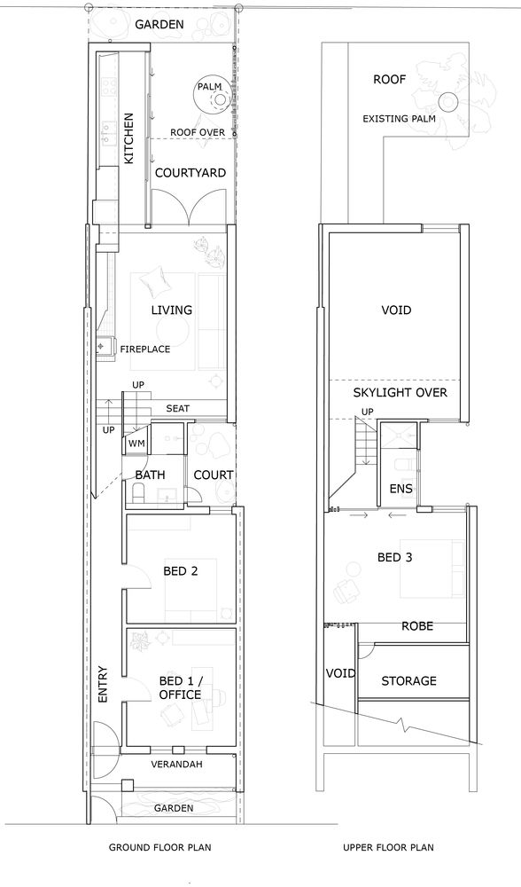 Gallery Of Walter Street Terrace David Boyle Architect 16 Architectural Floor Plans House Renovation Plans Terrace Floor