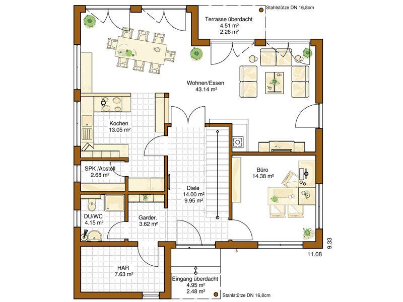 Sims 3 moderne häuser grundrisse  RENSCH HAUS | FertighausWelt Köln | Häuser und Grundrisse ...