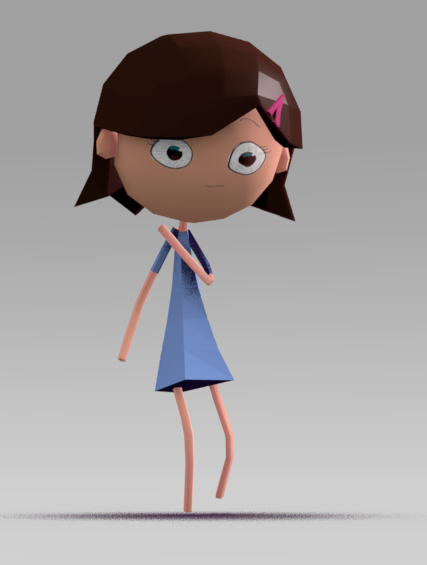 Pirates And Skeletons Plain Jane 3d Character Cartoon Low Poly 3d