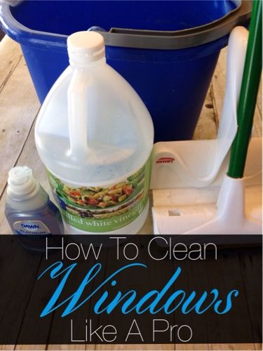 how to clean windows like a pro sprays window and vinegar. Black Bedroom Furniture Sets. Home Design Ideas