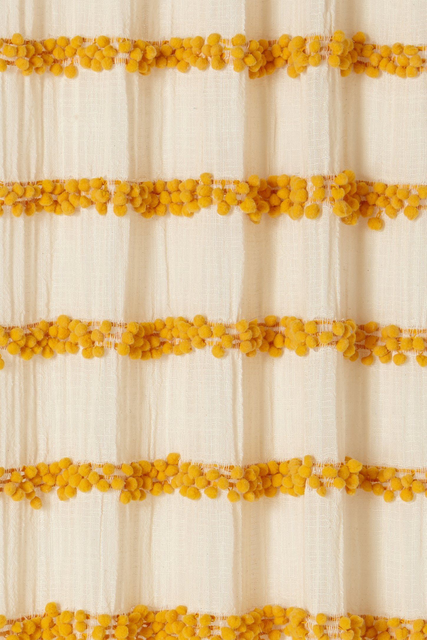I Love Yellow Right Now Swing Stripes Curtain Anthropologie Anthrofave Juvenilehalldesign