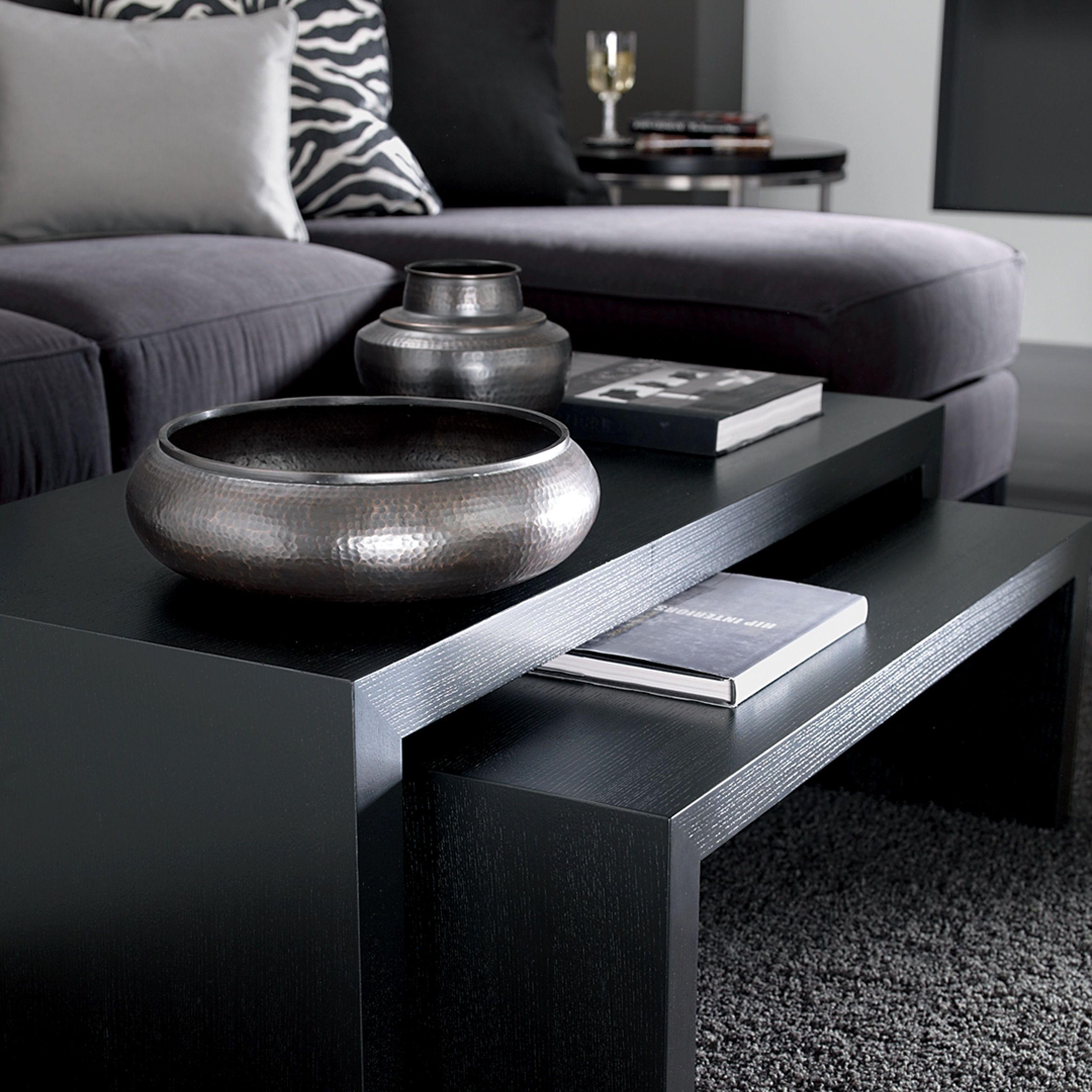 Duo coffee tables ethan allen us black furniture ethan allen duo coffee tables ethan allen us black furniture geotapseo Images