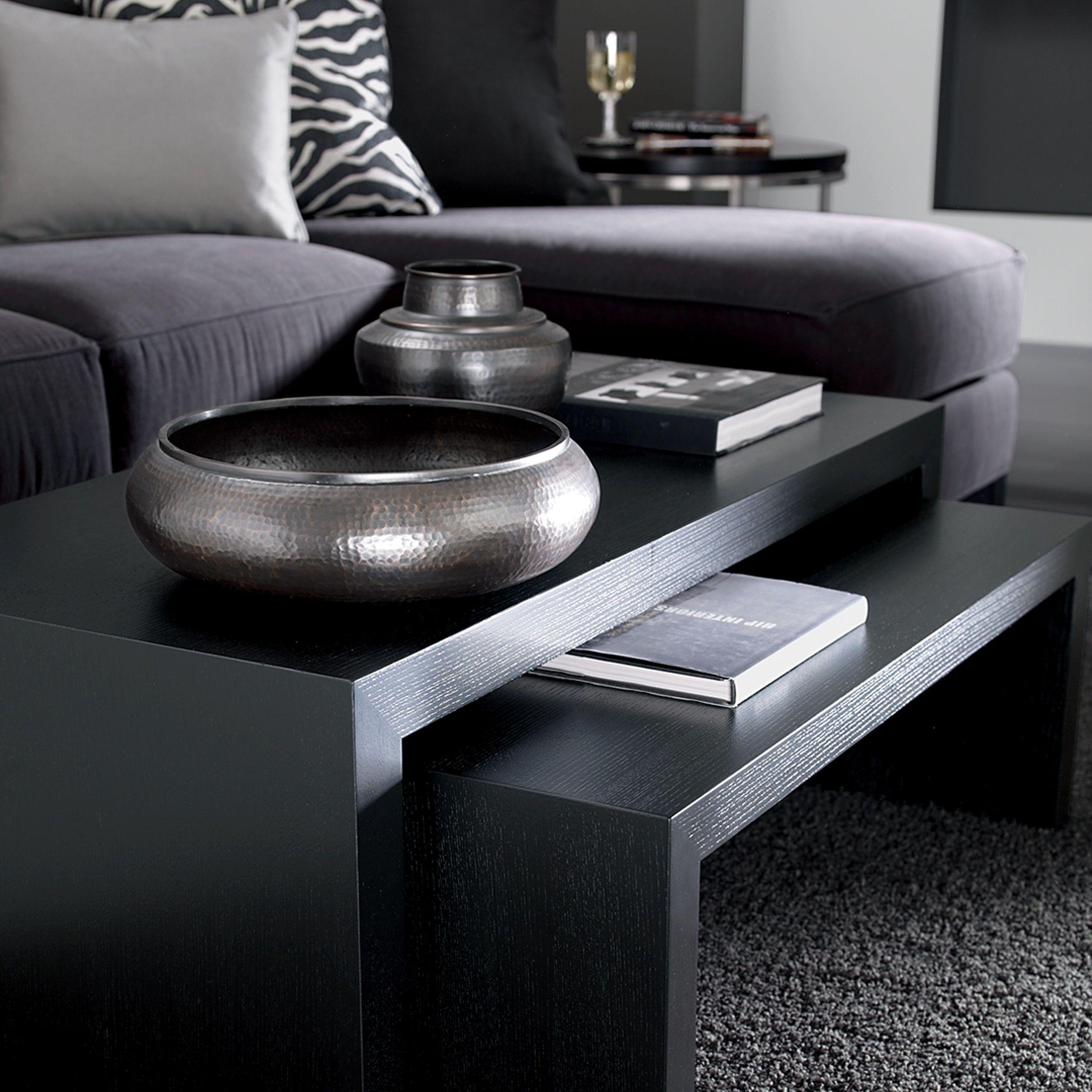 Duo Coffee Tables - Ethan Allen US black furniture.   ETHAN ALLEN ...