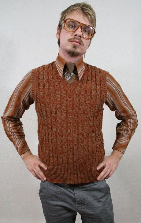 brown sweater vest - Google Search | kyan-- wardrobe | Pinterest