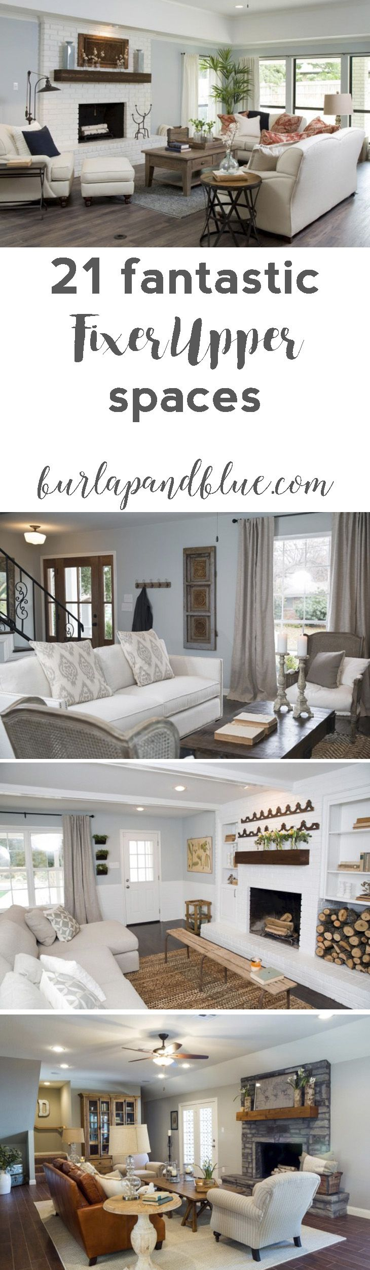 fixer upper dining rooms living rooms and kitchens get the fixer upper look chip jo. Black Bedroom Furniture Sets. Home Design Ideas