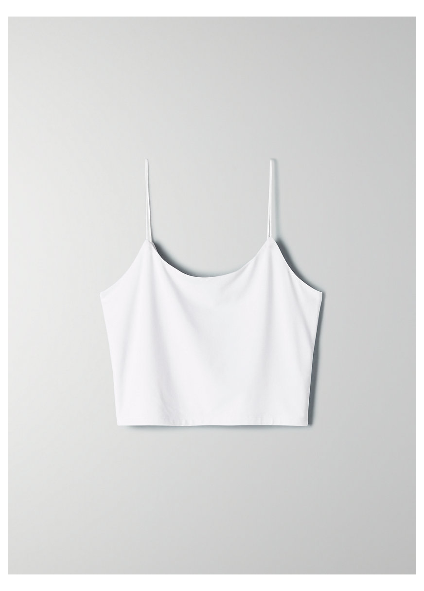Tiny Tank White Tank Top Png Whitetanktoppng This Is A Bodycon Tank With A Double Scoop Neckline And Tubula White Crop Top Tank Tiny Tank Tank Top Outfits