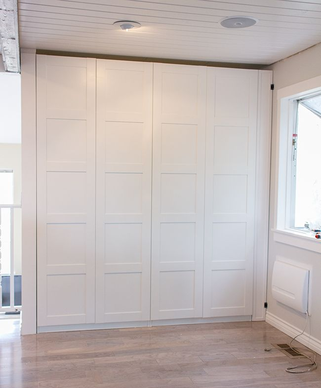 DIY Built-in Ikea Pax Pantry | Jenna Sue Design | Pinterest ...