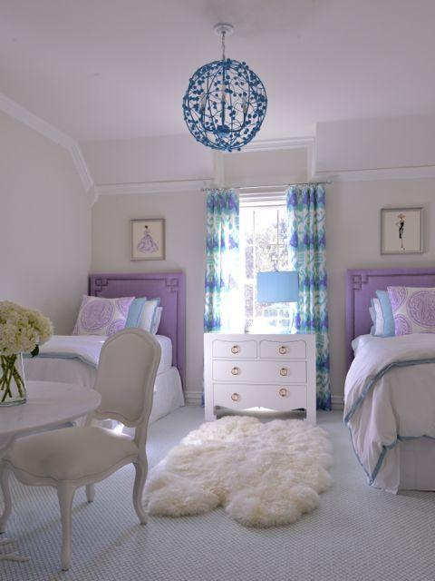 Purple And Blue Room T R A C Y H D E N B U G S I L