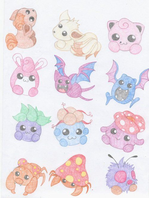 Pokemon, cute.