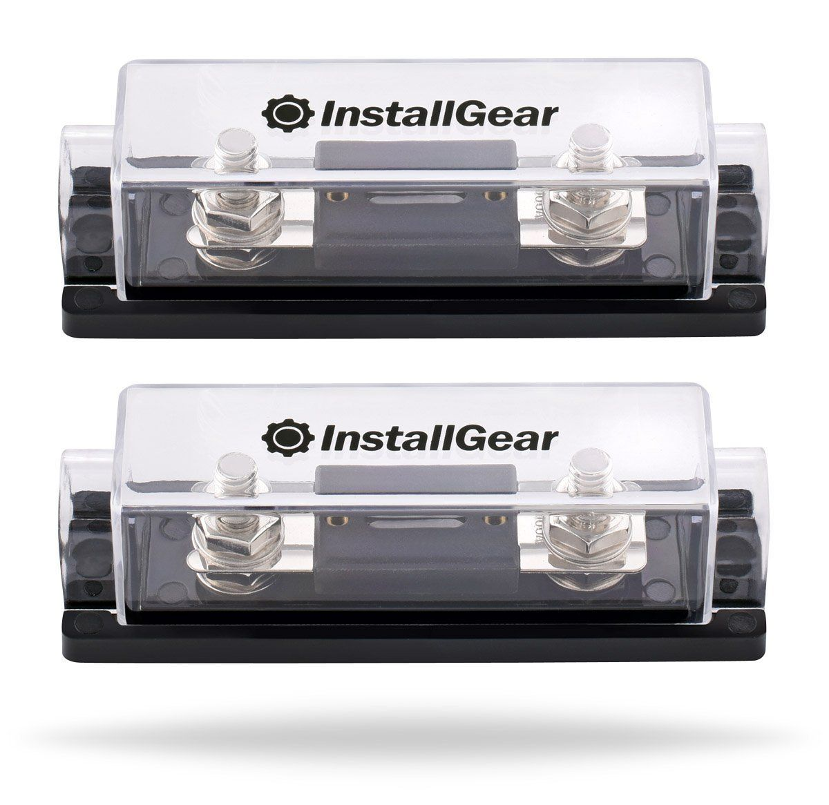 hight resolution of installgear 0 2 4 gauge ga anl fuse holder 100 amp anl fuses 2 pack