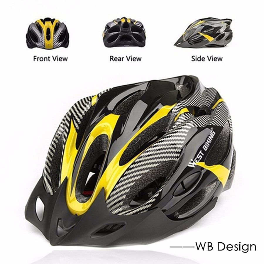 West Biking Multi Olahraga Bahan Pc Eps Helm Mtb Sepeda Jalan