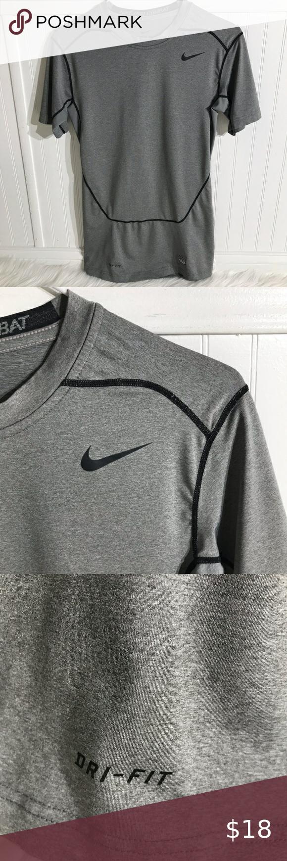 Nike Pro Combat Dri Fit Men S Fitted T Shirt Sz M Nike Pro Combat Dri Fit Nike Pros [ 1740 x 580 Pixel ]