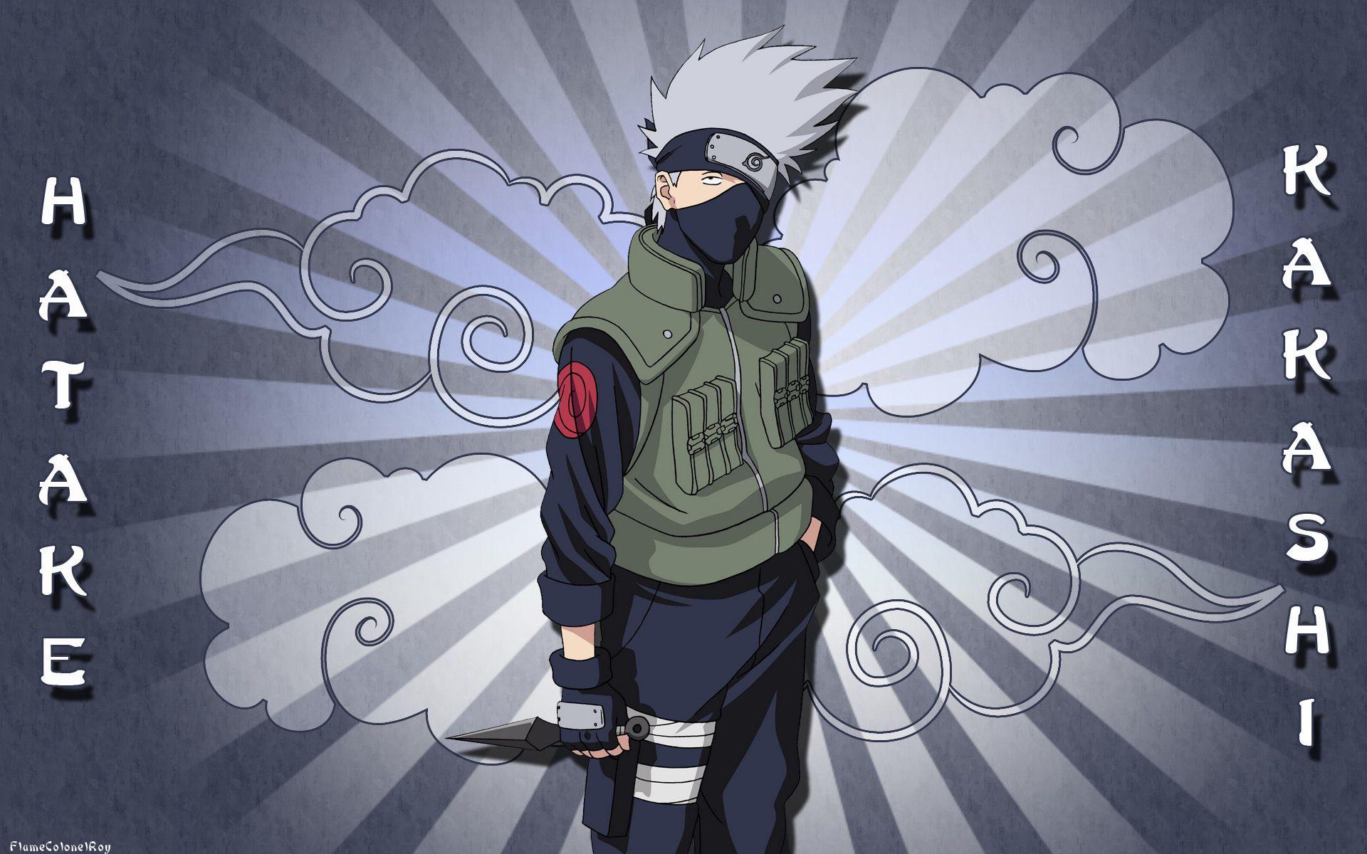 Kakashi sakura sasuke naruto wallpaper forwallpaper com html code - Anime Naruto Kakashi Hatake Tapeta