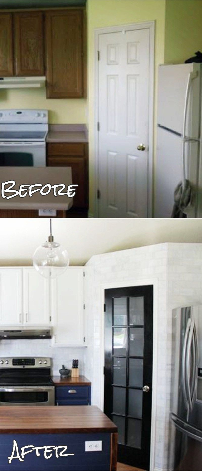 Small Kitchen Remodels Before and After PICTURES To Drool Over ...