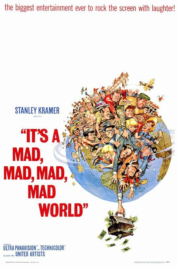 It's a Mad Mad Mad Mad World 11x17 Movie Poster (1970)