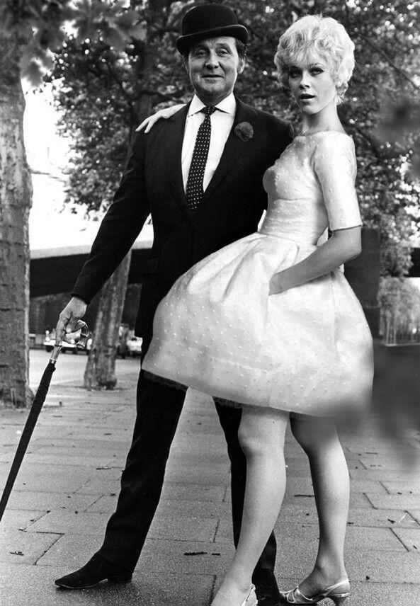 Patrick Macnee and Linda Thorson as John Steed and Tara King in the Avengers