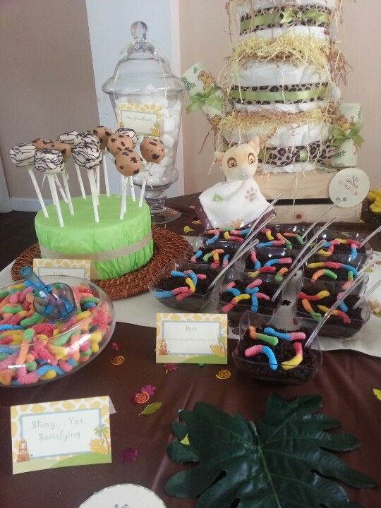 king baby shower ideas baby shower sweets jungle theme themed baby