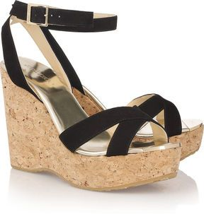 Jimmy Choo Papyrus Platform Wedges 2015 new online get to buy sale online genuine cheap price cheap sale best prices prices cheap online BpC7YU