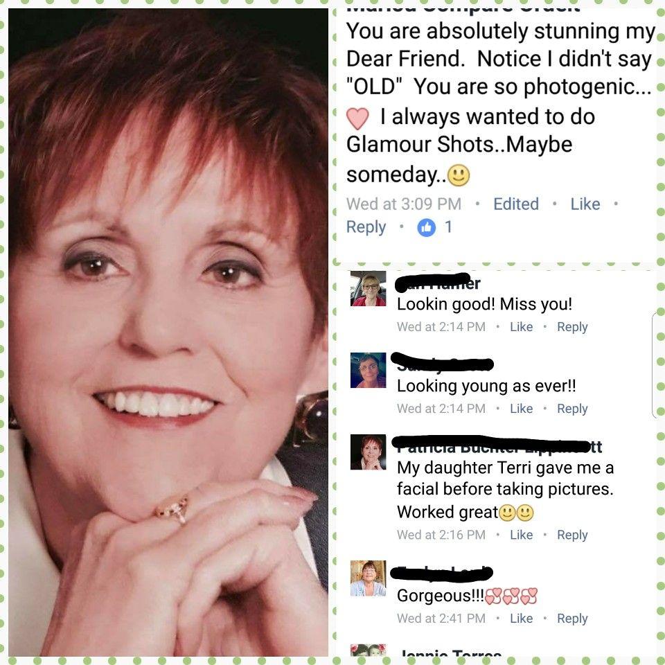 Friends mom wonders facial