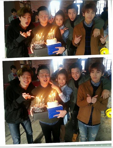 Sungjae, Minhyuk and Ilhoon ♡