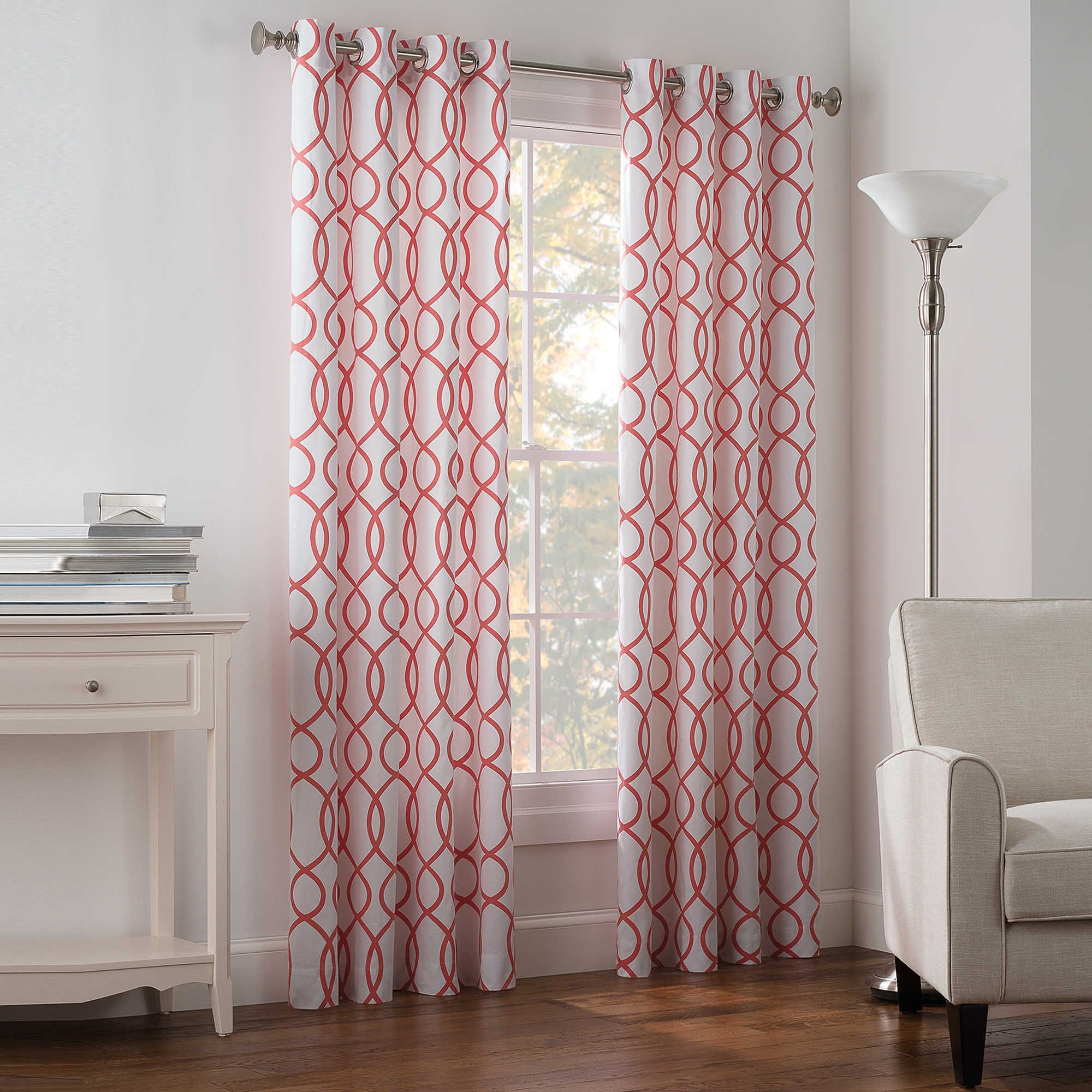 Bed bath and beyond window curtains  newport wave lightfiltering grommet top window curtain panel  for
