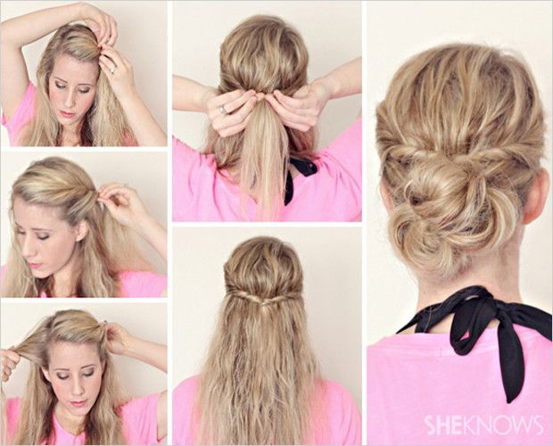 5 Super Simple Styles For Wet Hair With Images Damp Hair Styles Hair Beauty Hair Styles