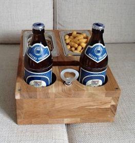 Sofa Tablett Bier Kiste Couch Butler Ablage Sofa Tablett Kiste Mannergeschenke