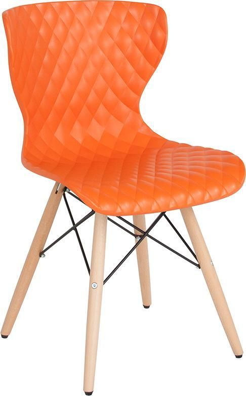 Admirable Bedford Contemporary Design Plastic Chair With Wooden Legs Ibusinesslaw Wood Chair Design Ideas Ibusinesslaworg