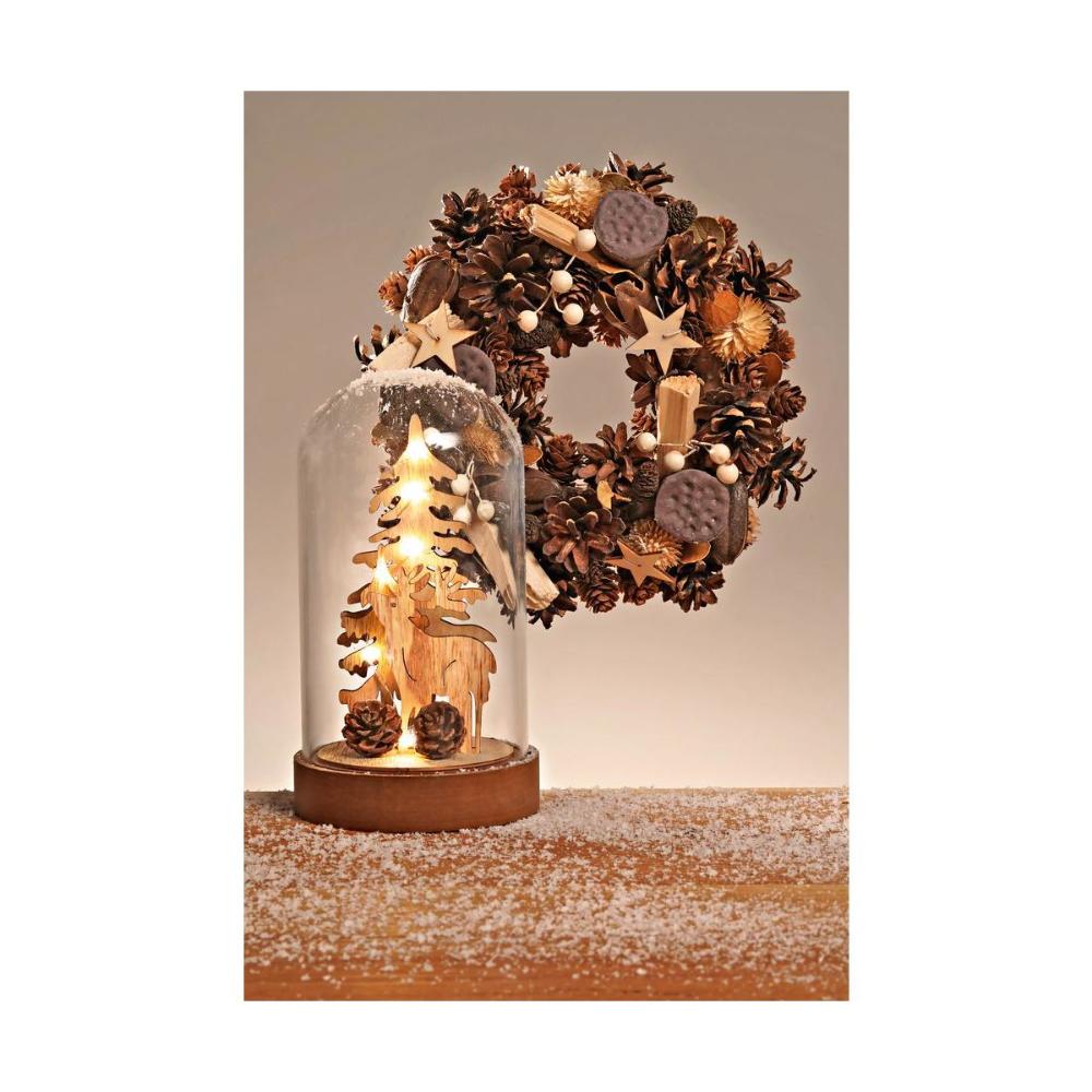 Choinka Z Reniferami W Szkle 19 5 X 12 Cm Z Oswietleniem Led Swieczniki I Dekoracje Swiateczne W Atrakcyjnej Cenie W Sklepach Leroy M Decor Home Decor Lamp