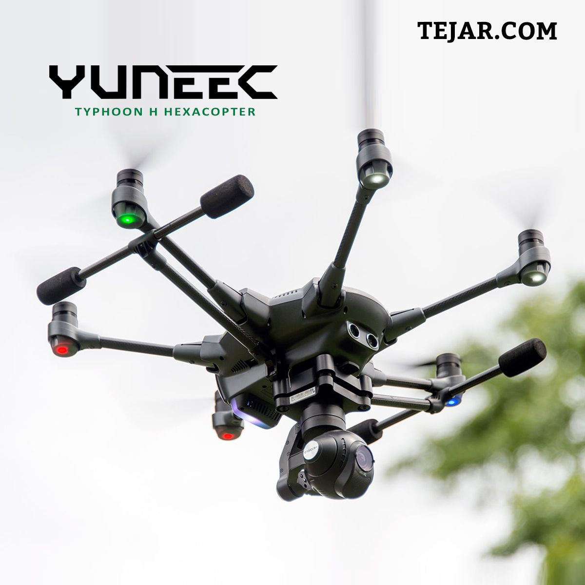 Yuneec Typhoon H Hexacopter | Camera & Accessories | Manual