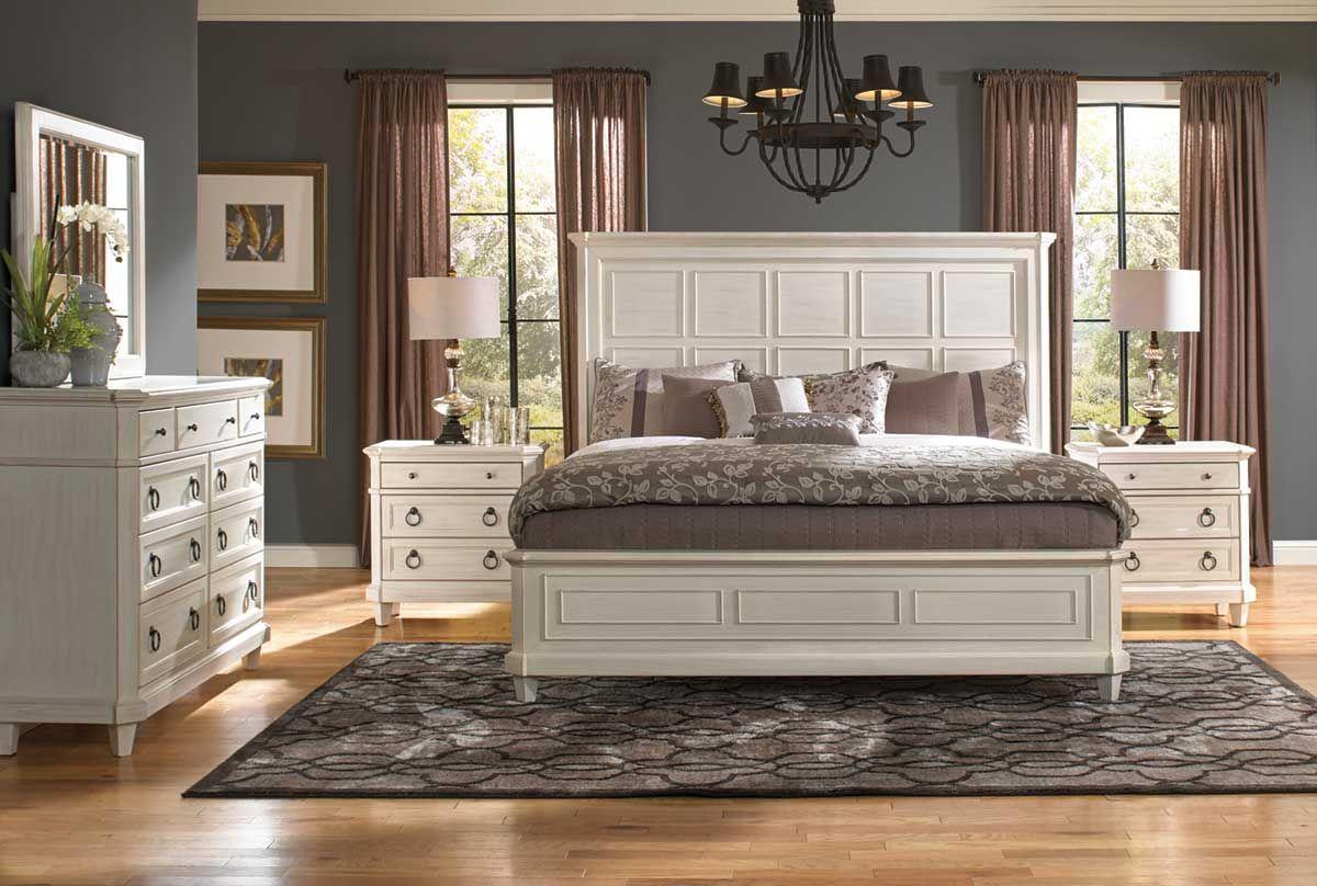 Augusta Ii 5 Piece Queen Bedroom Set Bedroom Sets Bedroom