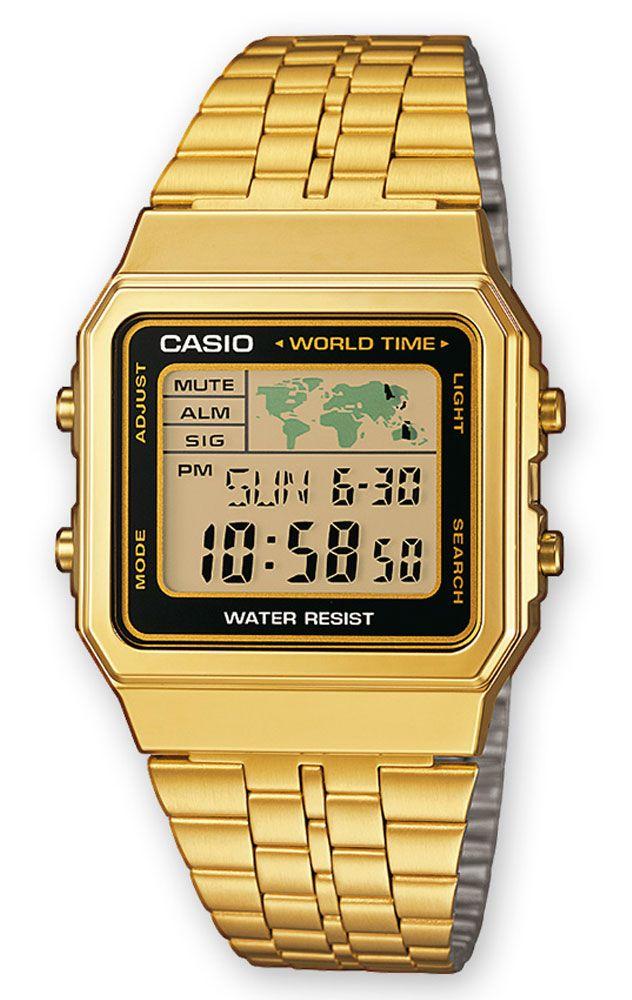 897bb8fea3f6 Reloj Casio hombre A500WEGA-1EF en 2019