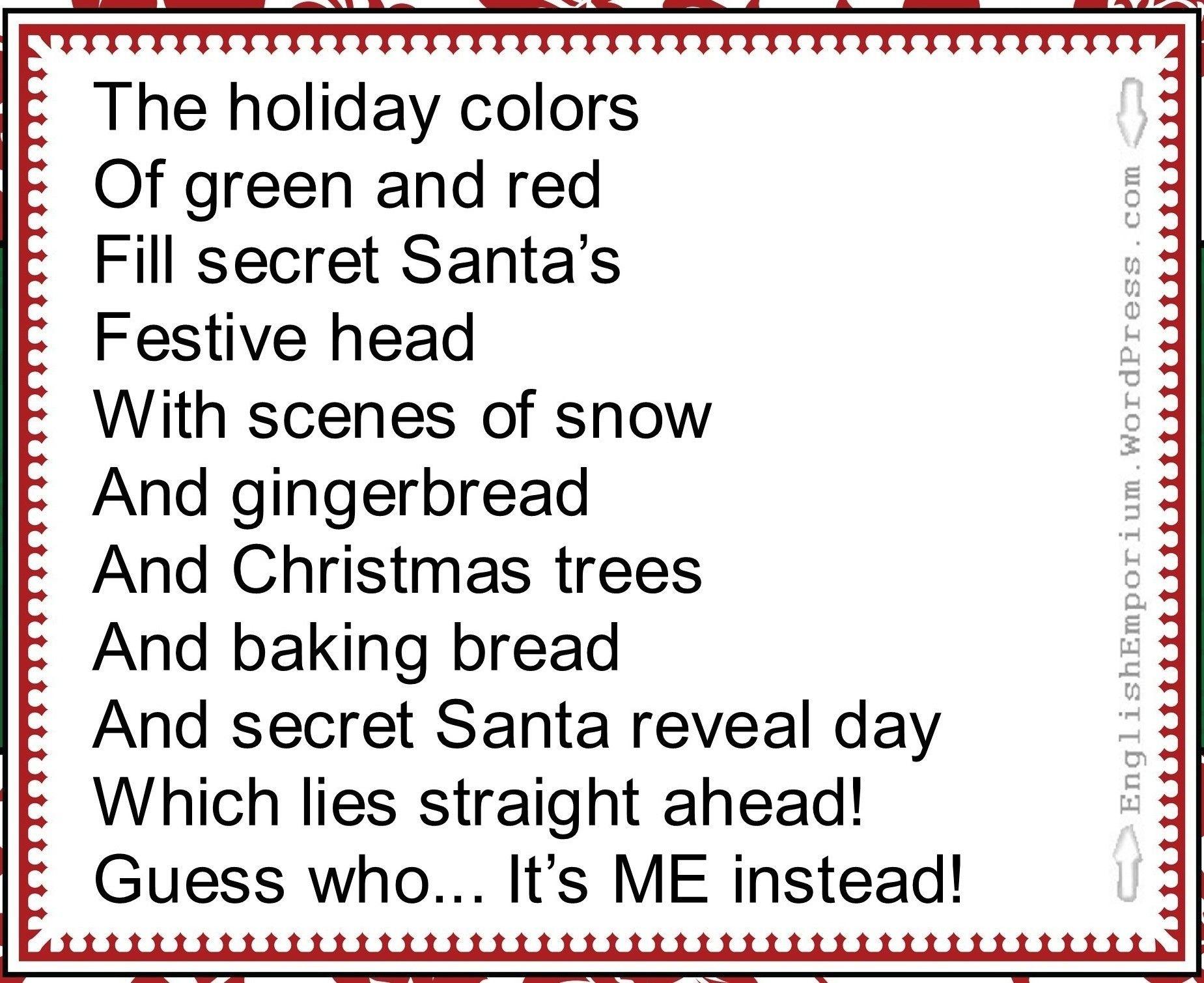 Awesome Secret Santa Ideas, Check Right Now  Creative Maxx