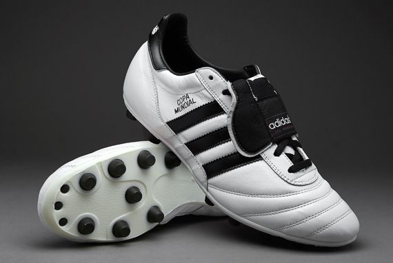 huge discount 364b1 a8745 adidas Football Boots - adidas Copa Mundial - Firm Ground - Soccer Cleats -  Running White-Black-Metallic Gold